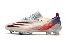Adidas X Ghosted .1 FG - White/Blue/Red