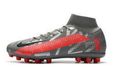 Nike Mercurial Superfly 7 Academy AG - Grey/Silver/Red