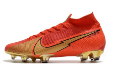 Nike Mercurial Superfly 7 Elite FG - Red/Gold/Red