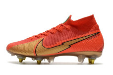 Nike Mercurial Superfly 7 Elite SG Pro AC - Red/Gold/Red