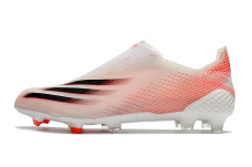 Adidas X Ghosted+ FG - White/Pink/Black